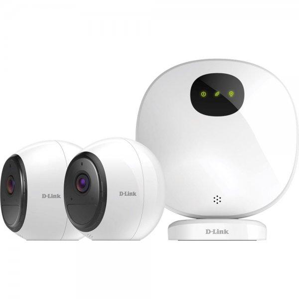 D-Link DCS-2802KT-EU mydlink Pro 2er Set WiFi Full HD Überwachungskameras