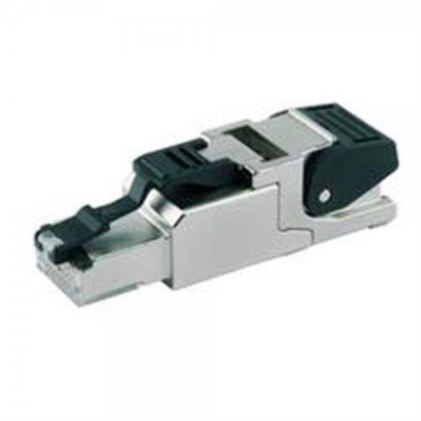 Telegärtner MFP8 RJ45/RJ45 feldkonfektionierbar AWG24/1-AWG22/1, AWG27/7-AWG22/7