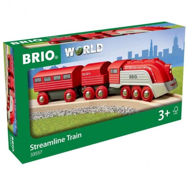 brio bahn 33557  highspeeddampfzug holzeisenbahn zug