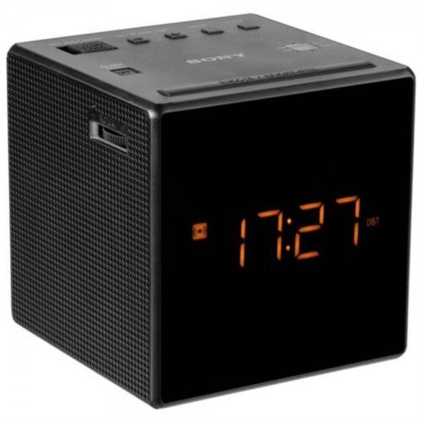 Sony ICF-C1 B Radiowecker Uhrenradio LED-Display Alarm/Snooze/Sleep Schwarz
