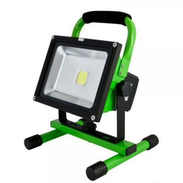 Synergy 21 LED Spot Outdoor Baustrahler 20W AKKU grün/k # S21-LED-000570