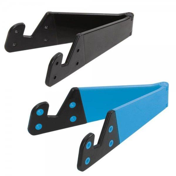 LogiLink AA0039B Klappbare Smartphone und Tablet Halterung Blau