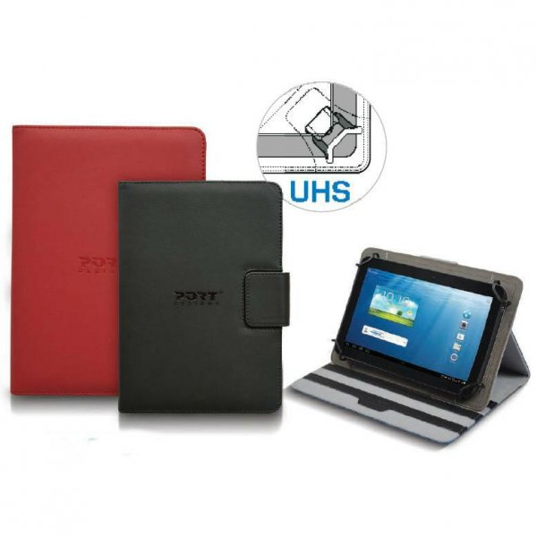 "Port Tablet Tasche Muskoka Universal 17,8cm (7"") red # 201330"