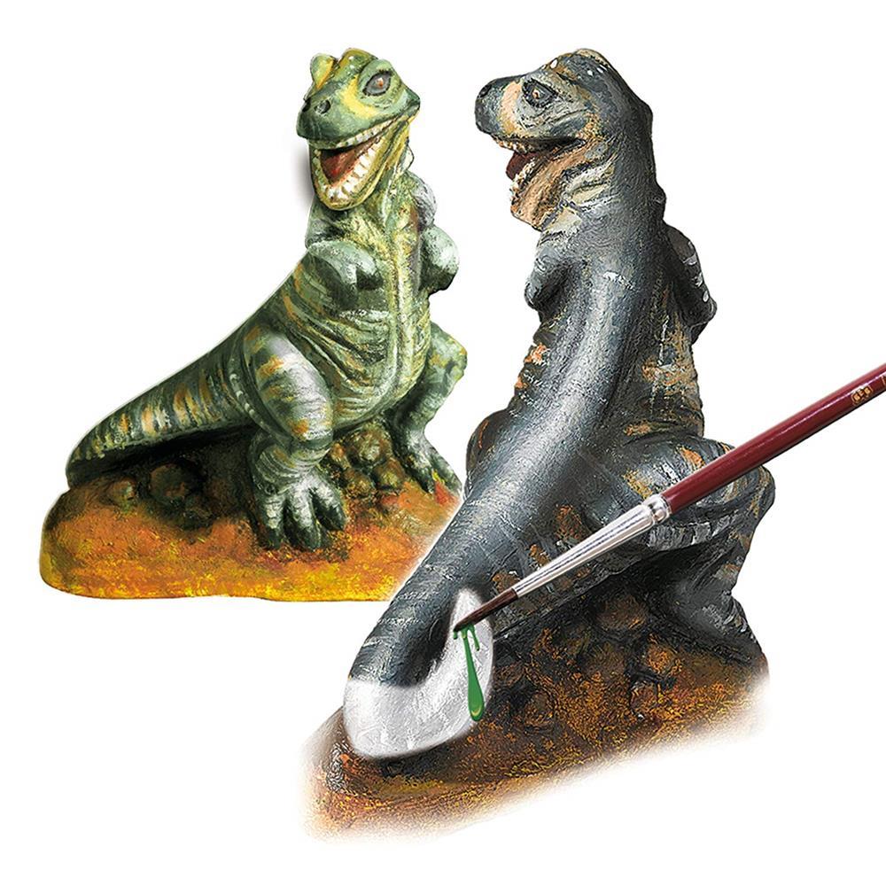 ses gipsgießset trex dinosaurier gipsgießset 01283