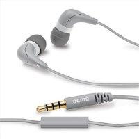ACME HE15G Groovy In-Ear Kopfhörer mit Mikrofon Grau