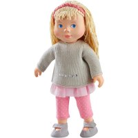 HABA 304889 - Spielpuppe Elisa, weiche Puppe mit Kopf und Gliedmaßen aus Vinyl