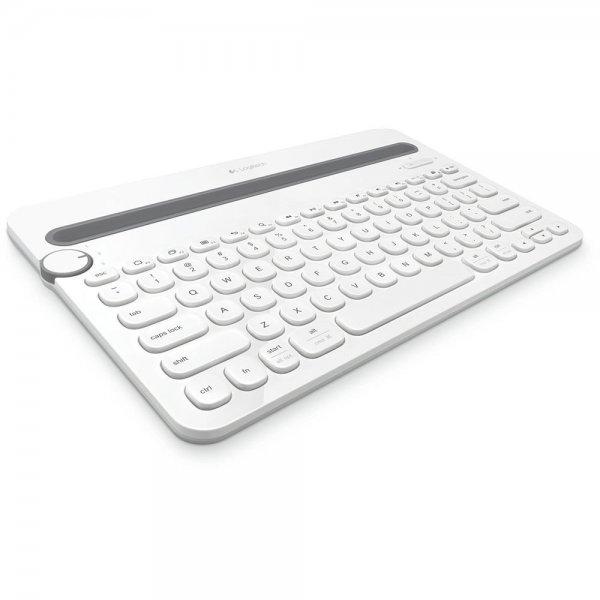 Logitech K480 Bluetooth Keyboard Tablet Smartphone Tastatur weiß # 920-006351