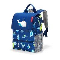 reisenthel backpack kids abc friends blue Kinder-Rucksack Freizeit Reisen Urlaub