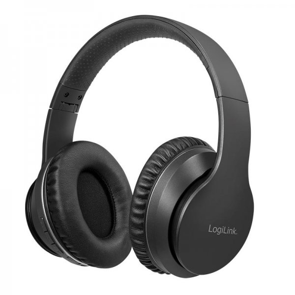 LogiLink Bluetooth Active Noise Cancelling Headset V5.0 ANC Mikrofon schwarz