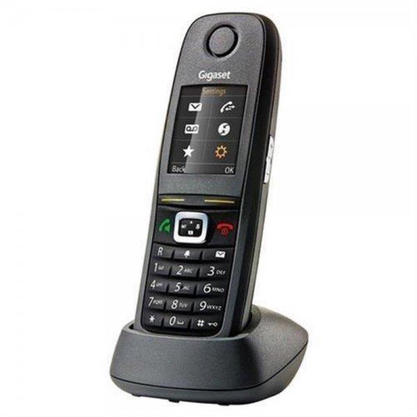 Gigaset R650H Pro DECT-Telefon schnurlos Festnetz Schwarz Outdoor Werkstatt robust kabellos