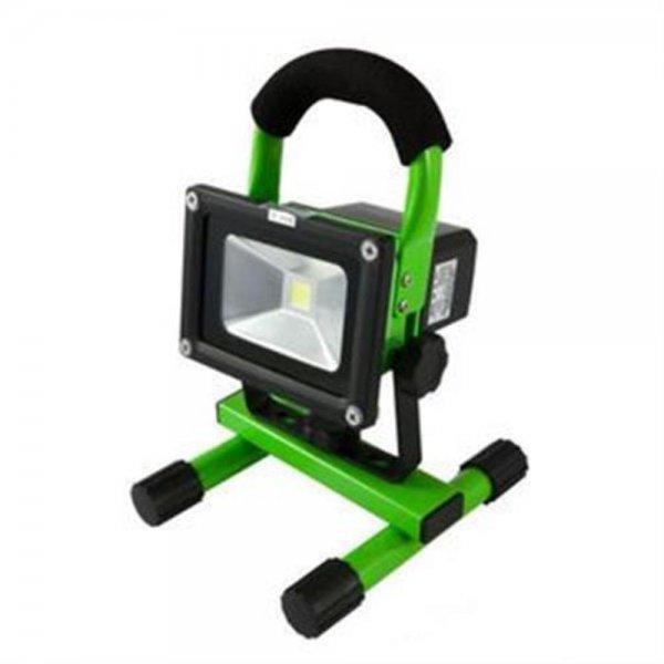 Synergy 21 LED Spot Outdoor Baustrahler 10W AKKU gelb/k # S21-LED-000560