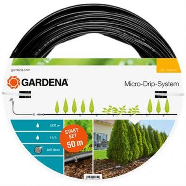 Gardena MDS Start Set Pflanzreihen L Micro-Drip-Gartenbewässerungssystem 50 m
