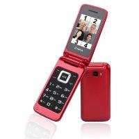 Olympia Luna Großtasten-Mobiltelefon Rot Farb-LCD-Display Grosstastenhandy Seniorenhandy