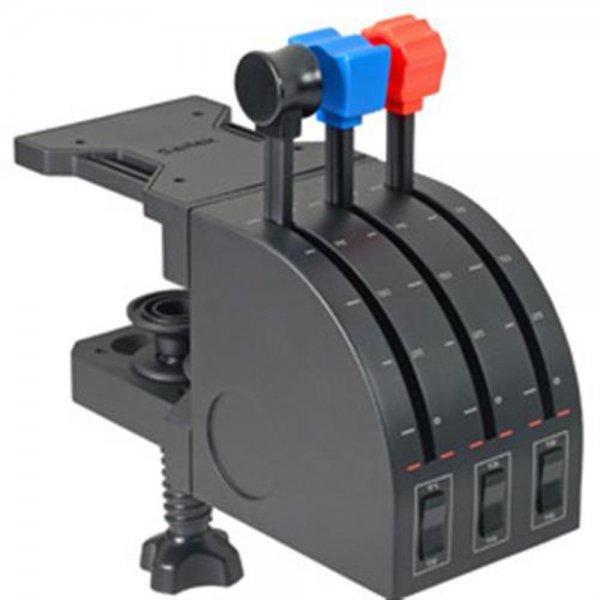 Logitech G Saitek PRO Flight Throttle Quadrant USB WW