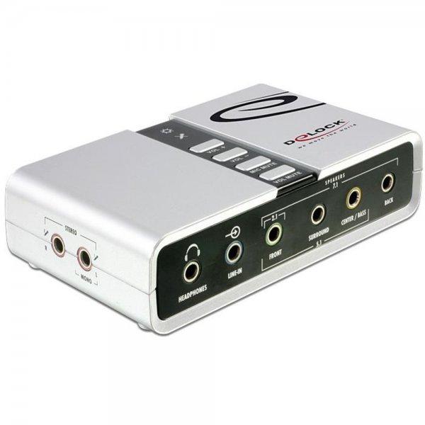 Delock USB Sound Box 7.1 Soundkarte extern S/PDIF