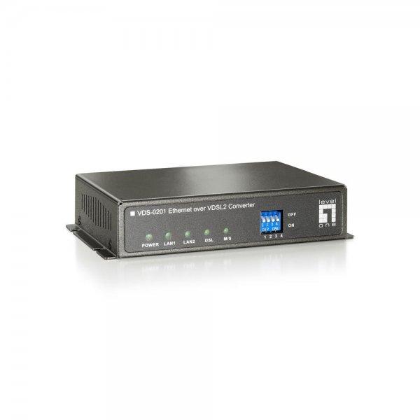 LevelOne VDS-0202 Konverter VDSL 100 Mbit RJ-45