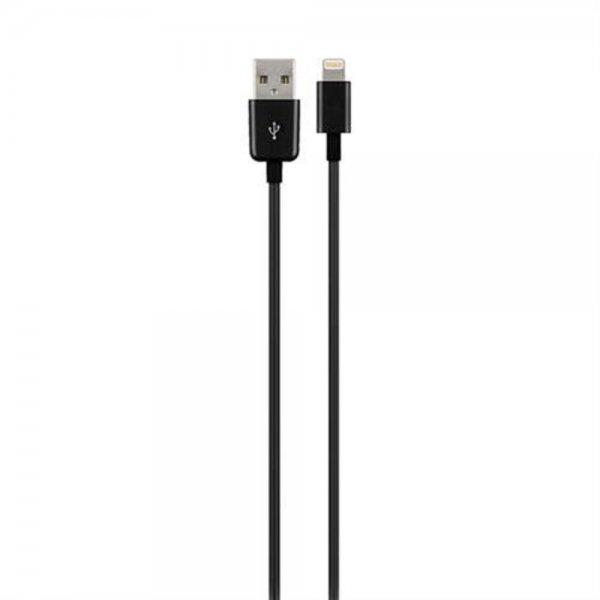 Goobay Lightning Ladekabel Daten Sync für Apple iPhone iPad iPod 0,5 m schwarz