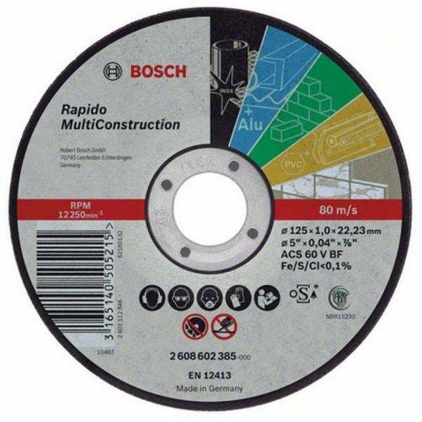 Bosch ACS 46 V BF Trennscheibe MultiConstruction 115mm | 2608602384
