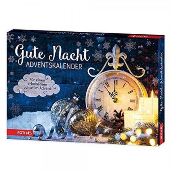 Roth Gute Nacht-Adventskalender 24 Türchen für kleine Atempausen und traumhafte Nächte