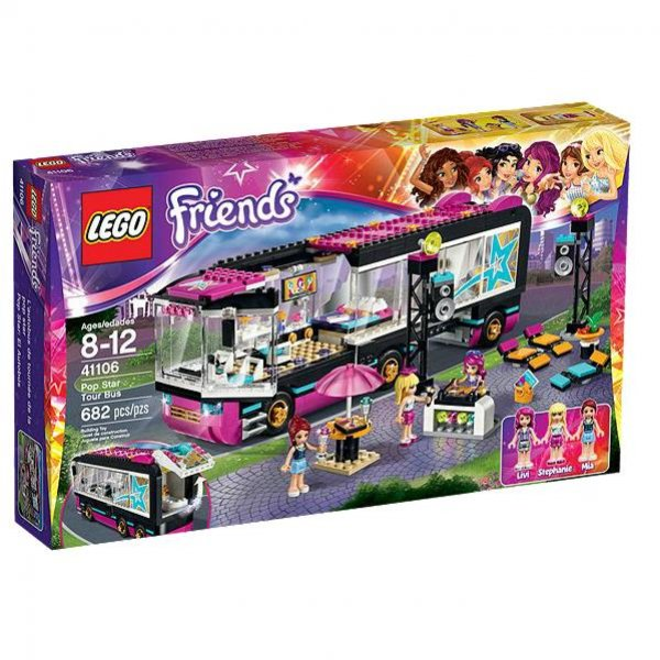 Lego Friends 41106 - Popstar Tourbus