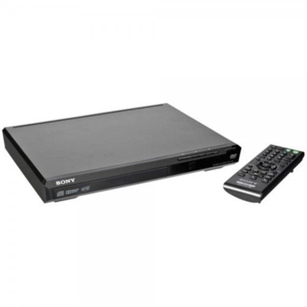 Sony DVP-SR370B Kompakter DVD-Player mit USB-Anschluss Schwarz