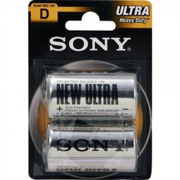 Sony Ultra SUM1NUB2A - Batterie 2 x D Typ Kohlenstoff Z