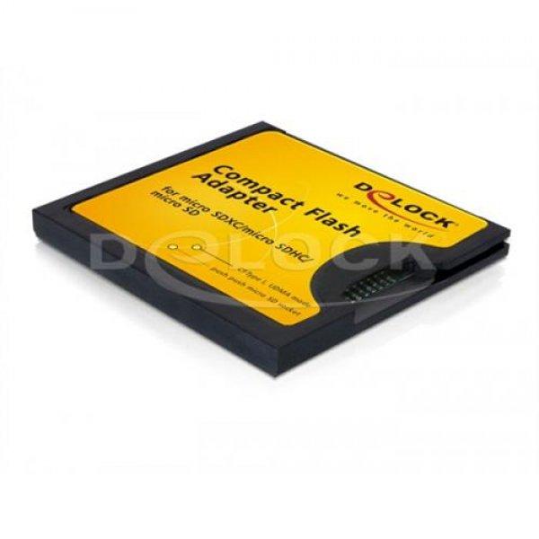 DeLock 61795 CF I zu Micro SDHC Adapter
