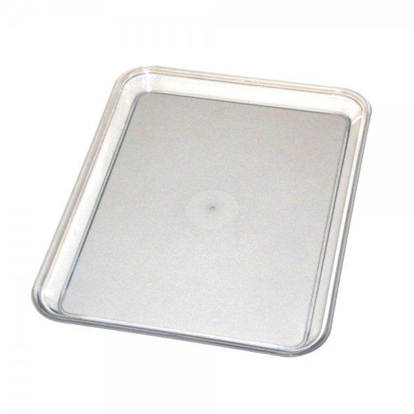 Graef 0000011 Tablett Kunststoff transparent Auffangtablett für Allesschneider