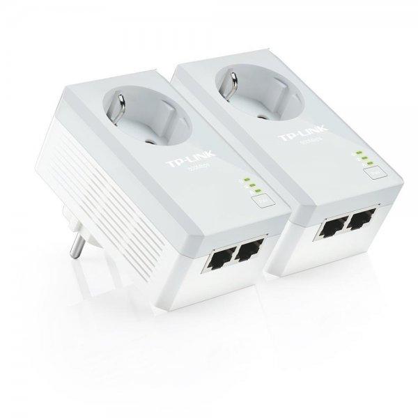 TP-Link TL-PA4020PKIT Powerline Kit 500Mbps 2-Port mit Steckdose | refurbished