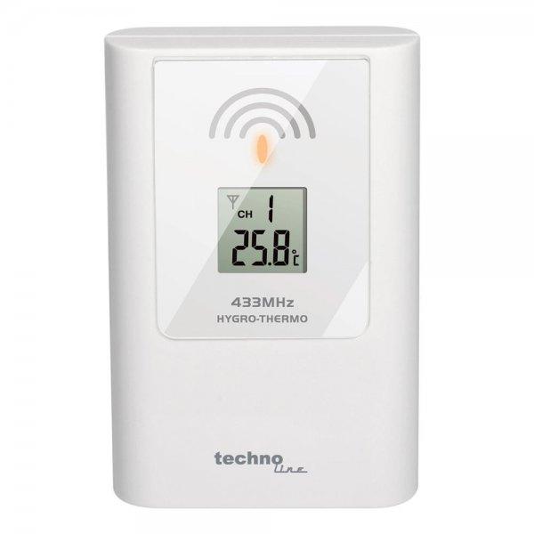 Technoline TX 108 DTH - Sender 433 MHz Sensor Aussensensor für WS 8011 / WS 9252