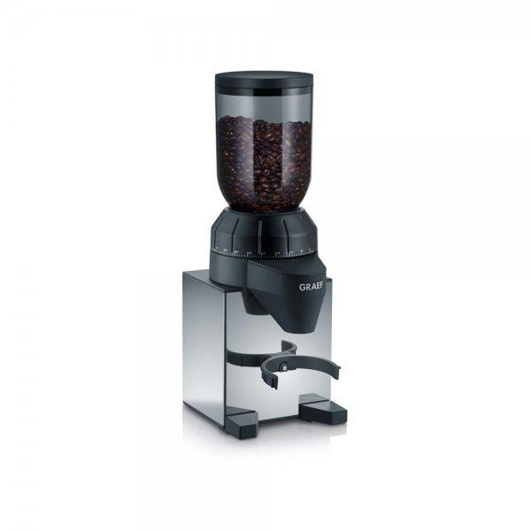 Graef elektrische Kaffeemühle CM 820 Edelstahl Espressomühle Kegelmahlwerk