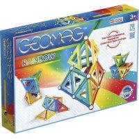 Geomag Classic Rainbow 72 Teile Magnetbausteine Magnetisches Konstruktionsspielzeug ab 3 Jahren