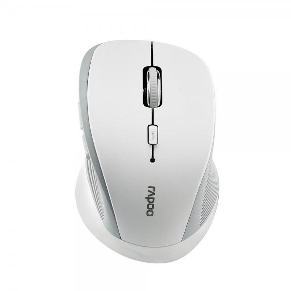 Rapoo 3910 Optische Wireless 2,4 GHz Maus 1000 dpi Weiß