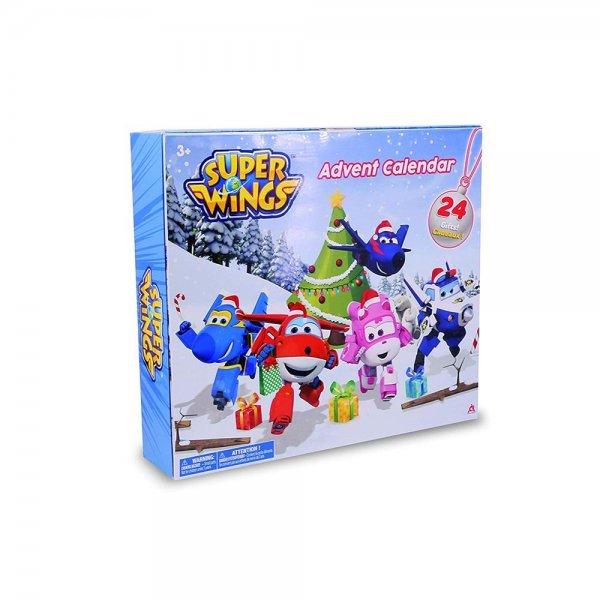 Waiky Super Wings Flugzeuge Adventskalender mit 24 Figuren