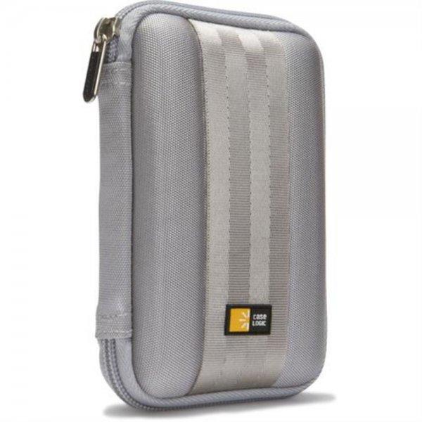 """Case Logic QHDC101G Tasche Etui Schutzhülle für 2,5"""" externe Festplatte Grau"""