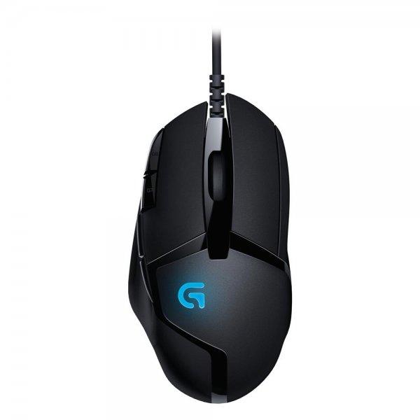 Logitech Gaming G402 Maus Hyperion Fury FPS USB Kabelgebunden schwarz 910-004067