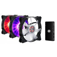 Cooler Master | MasterFan Pro 120 Air Pressure RGB 3in1