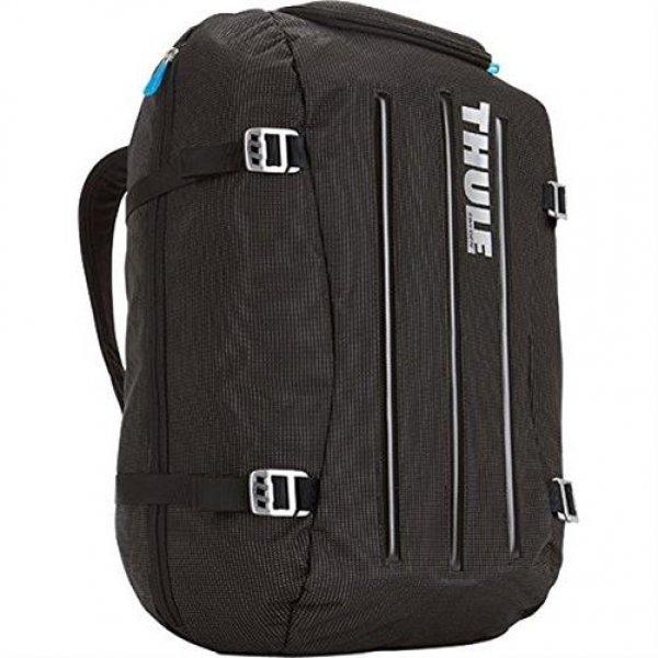 Thule Crossover Duffel 40L Laptop Rucksack mit Safe-Zone blau/schwarz
