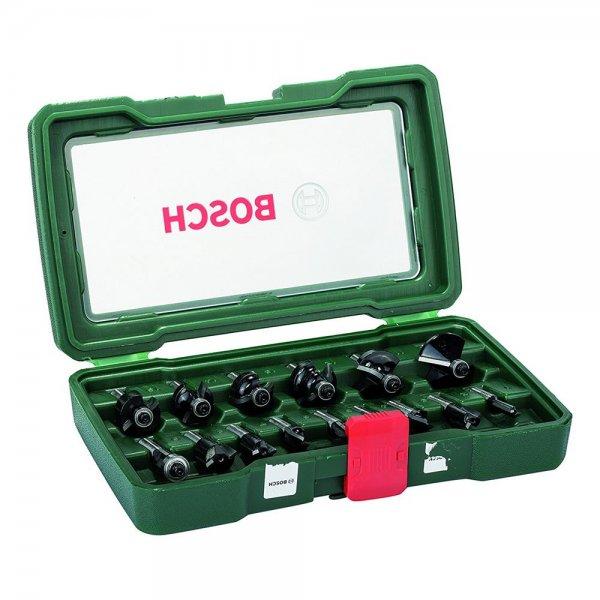Bosch 2607019469 HM-Fräser-Set (8mm) 15-tlg