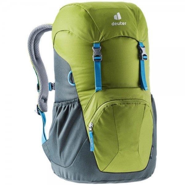 Deuter Junior Kinderrucksack Wanderrucksack Reiserucksack moss-tea Rucksack Jungen Mädchen gelb grün