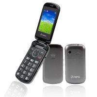 Olympia Brava Großtasten-Mobiltelefon Schwarz Farb-LCD-Display Grosstastenhandy Seniorenhandy