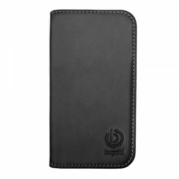 bugatti BookCover Oslo für Samsung Galaxy S5 black # 08456