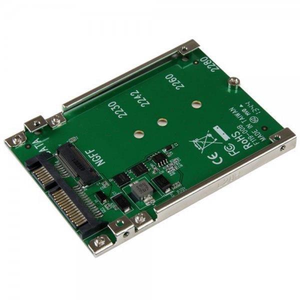 StarTech.com M.2 NGFF SSD auf 2.5 Zoll SATA Adapter / Konverter