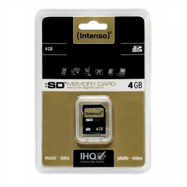Intenso SD Secure Digital Card SDHC - Secure Digital (S # 3401450