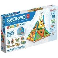 Geomag Supercolor Panels 78 Teile Magnetbausteine Magnetisches Konstruktionsspielzeug ab 5 Jahren