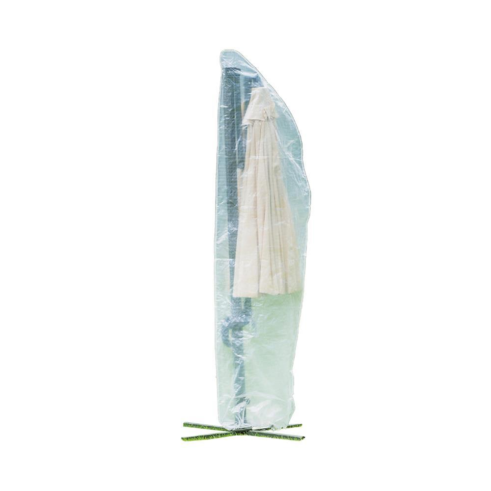 Ampelschirm Schutzhülle Sonnenschirm Abdeckhaube Gartenschirm Transparent