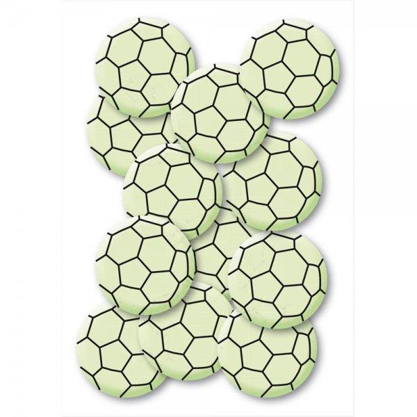 HERMA Leuchtsticker Fussball Mini 12 Stück