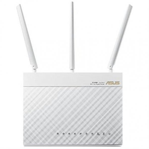 ASUS RT-AC68U WL-Router AC1900 Dual-Band Power WLAN Router Weiß