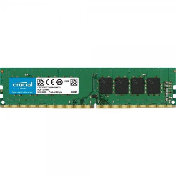 Crucial CT8G4DFS824A 8 GB Speicher (DDR4, 2400 MT/s, PC4-19200, SRx8, DIMM, 288-Pin)