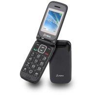 Olympia Classic Mini II Großtasten-Mobiltelefon Schwarz/Anthrazit Farb-LCD-Display Grosstastenhandy